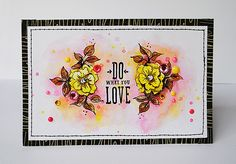 Do what you love | card by Anski