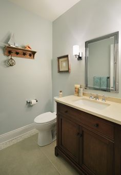 Mark Road Residence | Powder Room | Z+ Interiors