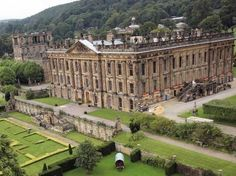 Chatsworth House by tracy sam