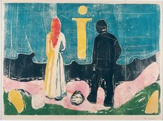 Edvard Munch, The Lonely Ones