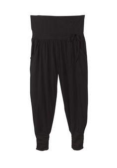 Black Long Harem Trousers | Trousers & Leggings | hush | hush-uk.com