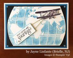 Jayne Linfante, Brielle NJ, Stampin' Up!, card swap