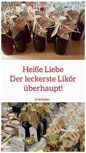 """Unsere """"Heiße-Liebe"""" (Likör) – eatwithsarah kalorienarme Rezepte, Gartentipps … Our """"hot-love"""" (liqueur) – eatwithsarah low-calorie recipes, gardening tips & Raspberry Tea, Raspberry Liqueur, Vodka Cocktails, Non Alcoholic Drinks, No Calorie Foods, Low Calorie Recipes, Apple Tea, Le Diner, Vegetable Drinks"""