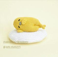 ami.mimi221:: gudetama حسب طلب الزبونة _________ #amigurumi#crochet#gudetama#kawaii#anime#japan#travel#fhashion#toys #baby#cute#hollywood#usa#ksa#draw #تسريحات#بيفور#افكار#كلنا_رسامين#تصويري#لايك#ضحك#السعودية#القطيف#الجارودية#الربيعية#سنابس#التوبي#الجش#سناب