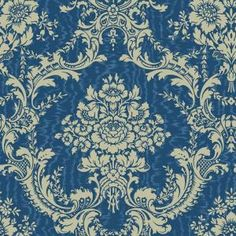 Shop Blue Mountain Wallcoverings Blue Mountain Antoinette Damask Aqua Pearl Strippable Non-Woven Prepasted Wallpaper at Lowe's Canada. Find our selection of wallpaper at the lowest price guaranteed with price match. Aqua Wallpaper, Wallpaper Samples, Fabric Wallpaper, Bedroom Wallpaper, Wallpaper Wallpapers, Pattern Wallpaper, Wallpaper Companies, Victorian Wallpaper, Classic Wallpaper