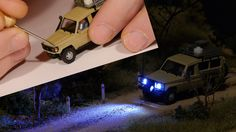 How-To Add Lights to HO scale vehicles - Model Railroad
