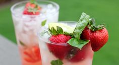 strawberry basil mojito.