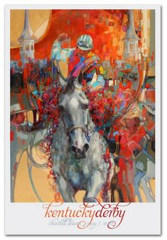 2011 Official Kentucky Derby Poster  That was a great weekend!