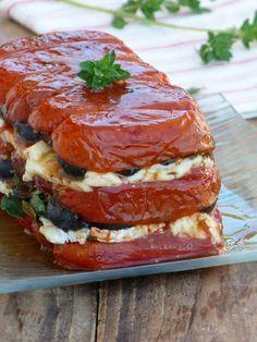 Terrine de tomates au fromage de brebis. Facile et delicieuse. Easy and delicious