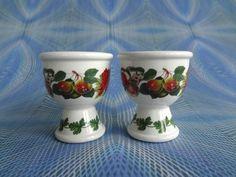 Portmeirion Pair Of Egg Cups Pomona Design POM128
