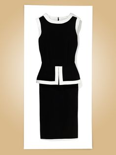 Calvin Klein color-block dress, $134Lord & Taylor, NYC, 212.391.3344