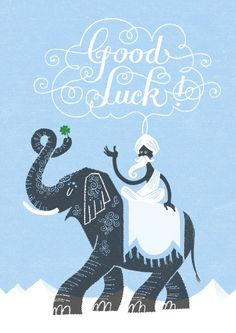 Good luck by Esther Aarts, via Flickr