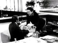 En 1940, Gabriel García Márquez se trasladó a Bogotá. Allí trabajó como reportero y crítico de cine. Su casa fue el diario El Espectador (desde 1947.