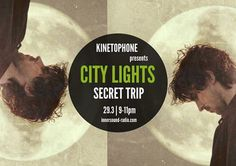 CITY LIGHTS Radioshow - SECRET TRIP (2016 Sensual Scores) City Lights, Scores, Community, Film, Board, Movie Posters, Image, Movie, Film Stock
