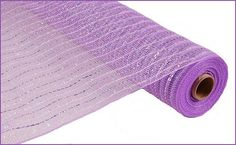 Lavender Laser Silver Foil Iridescent Twist Poly by wreathsbyrobin See more at: https://www.etsy.com/shop/wreathsbyrobin
