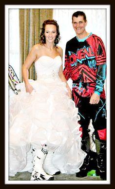 A Storybook Motocross Wedding