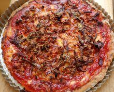recette sans gluten de pizza de Chicago