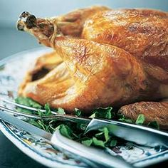 crisp skinned butterflied roast turkey crisp skin high roast bbq gravy ...