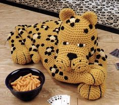 Leopard:  Crochet Pattern for purchase