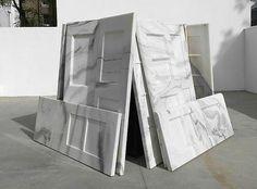 Ai Wei Wei marble doors
