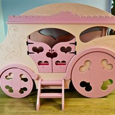 Pretty Princess Carriage Bed