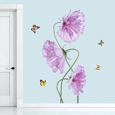 Flowers Wall Decals – the treasure thrift
