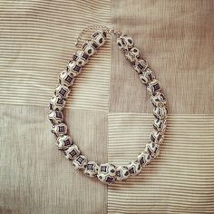 DIY | necklace made from a scarf