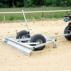 The Wessex Menagé Grader is the perfect tool for simply attaching to your ATV and levelling out sand or rubber crumb. Riding Mower Attachments, Atv Attachments, Metal Projects, Welding Projects, Atv Implements, Snow Blades, Appropriate Technology, Tractor Accessories, Atv Trailers