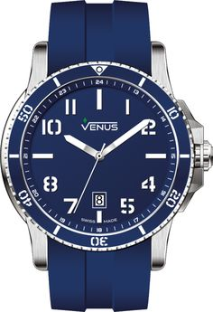 Gents Collection :: Chroma Collection :: Quartz Time-Date Baselworld 2016, Watch Brands, Alchemy, Best Brand, Stainless Steel Case, Deep Blue, Venus, Bracelet Watch, Watches For Men