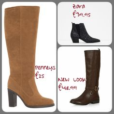 Every year it's the same, the lovely cold, crisp days return and we ladies have a stand off with our 100 denier tights and so begins Boot Season. At the moment there is a veritable flood of boots o. Beauty Junkie, Tis The Season, Music Lovers, Fashion Addict, New Look, Heeled Boots, Crisp, Wordpress, Tights