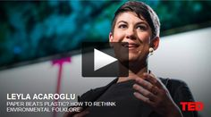 Written works by sustainability strategist and designer Leyla Acaroglu on design, ideation, innovation, social innovation, making change and life cycle thinking