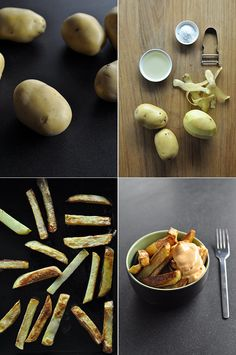 Hand-cut oven chips « Cooking Blog – Find the best recipes, cooking and food tips at Our Kitchen.