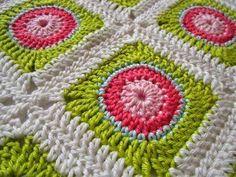 quadrados de croche passo a passo ile ilgili görsel sonucu