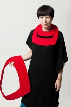 """Wool Necklace Set - by """"C'est la Chine"""""""