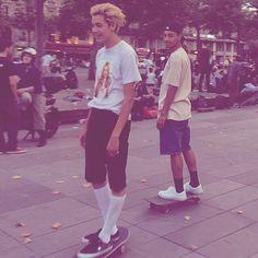 #sage elsesser #sean pablo #skate #fashion #street #coolkid