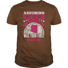 Cool and Awesome Massachusett Assuming I Was Like Most Women Tee Shirt Hoodie Broncos Shirts, Show No Mercy, Red Long Sleeve Shirt, Bridesmaid Shirts, Just Kidding, Ugly Christmas Sweater, T Shirts For Women, Mens Tops, Halloween Costumes