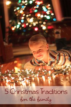 These are five Christmas family traditions to do every year - they're so simple.