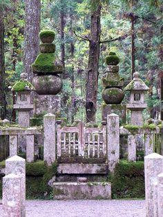 Tombstone of a great Samurai Shingen Takeda at Mt.Koya in Japan Takeda Shingen, Japanese Buildings, Sea Of Japan, Island Nations, Rising Sun, Japanese Models, Model Building, Ghost Towns, World Traveler