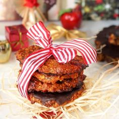 Fitness zdravé marokánky - vánoční cukroví - recept Bajola Trifle, Tandoori Chicken, Fitness, Cooking, Cake, Ethnic Recipes, Food, Christmas, Kochen