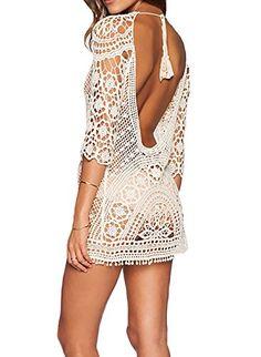 Bestyou® Women's Floral Lace Crochet Cover up Tunic Beach... https://www.amazon.com/dp/B01G68MULG/ref=cm_sw_r_pi_dp_x_f-.WybDFVF477