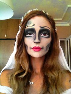 Corpse Bride makeup  By me Semra Altinel Caggiari