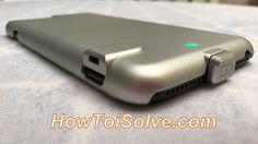Best iPhone 7 Plus battery Case: Rechargeable Battery Power juice