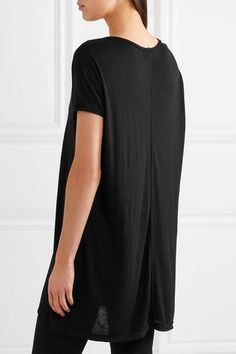 Rick Owens - Jersey T-shirt - Black - IT38