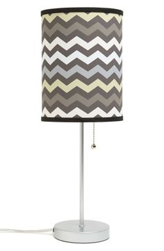 Chevron desk lamp.