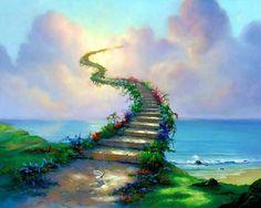 Warren, Jim (b,1949)- Magic Stairway