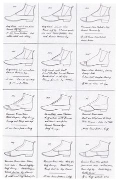 FASHION DESIGN AND MECHANIZATION Catalogue of shoe patterns by Joseph Williams, 1866 - courtesy Northampton Central Museum