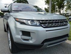 2013 Range Rover Evoque in Indus Silver