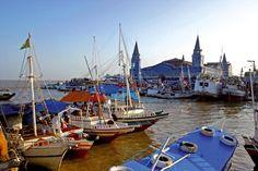 Belém,capital do estado do Para,norte  do Brasil