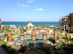 Villa del Palmar Cancun. View from main building, 5th floor :)