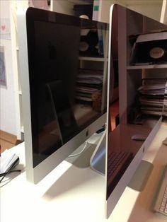 """My new 27"""" iMac vs the 2010 model"""